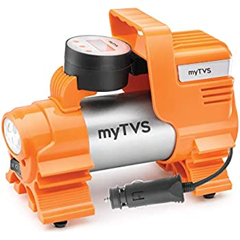 myTVS TI-86 Metallic Digital Auto Cut-Off Car Tyre Inflator