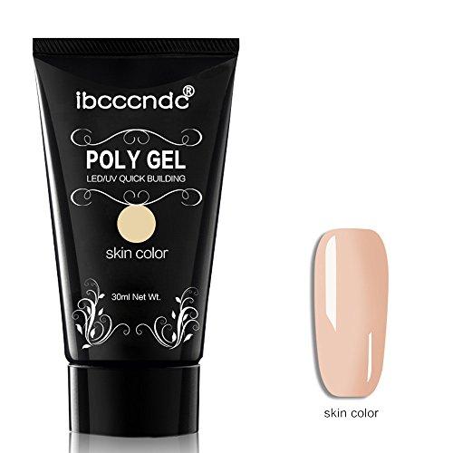 Igemy Nagel Polygel 2019 Neues Jahr, Langlebige Finger Nagellack Kristall Gelee Camouflage UV Lampe...