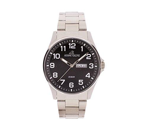 Adora Unisex Erwachsene Analog Quarz Uhr mit Edelstahl Armband AN2071