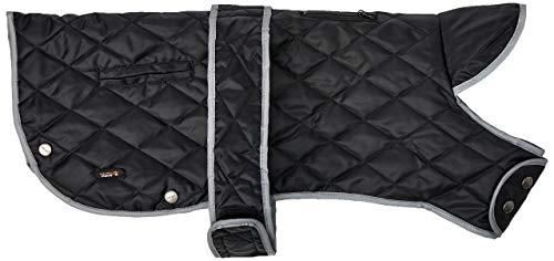 Muddy Paws Diamond - Abrigo para edredón (Talla L), Color Negro