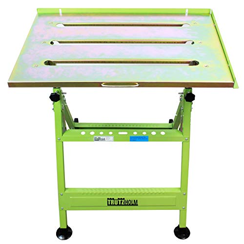 TrutzHolm® Profi Schweißtisch klappbar höhenverstellbar Premium Werktisch Werkstatttisch bis 150kg