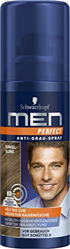 Men Perfect Anti-Grau-Spray Dunkelblond, 120 ml