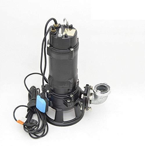 "Profi Fäkalienpumpe Tauchpumpe Schmutzwasserpumpe 2\"" Tülle 1,8kW Cutter 500l/min"