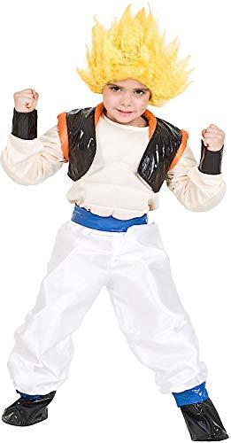 VENEZIANO Costume Carnevale da Guerriero GOGE Vestito per Ragazzo Bambino 7-10 Anni Travestimento Halloween Cosplay Festa Party 3679 L