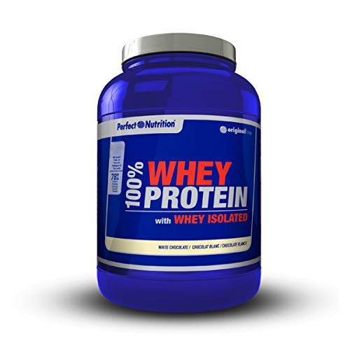 Perfect nutrition 100% Whey Protein + Iso - 908 gr Vainilla