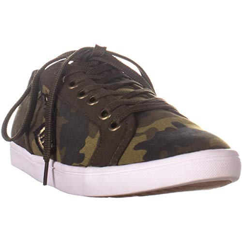 American Rag Womens Melina2 Low Top Lace Up Fashion Sneakers, Camo, Size 6.5