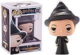 MNZBZ Pop ilustración Vinilo Harry Potter-Minerva McGonagall muñeca Adornos coleccionables Modelo de Juguete 3.75 Pulgadas para niños