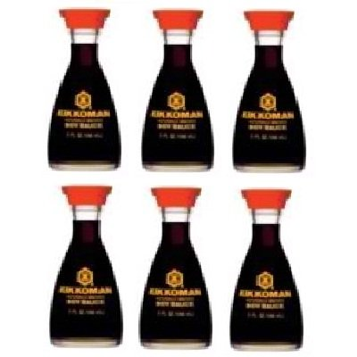 Kikkoman Soy In a Large special price !! popularity Sauce 24x 5OZ Dispenser