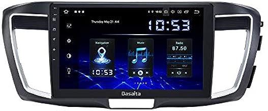 DasaitaAndroid10.0Car RadiowithCarplayforHonda Accord 2013 2014 2015HeadUnit1280x720 Resolution TouchScreen4G Ram 64G ROM SupportAndroidAuto GPS Navigation WiFi RDS Radio Bluetooth