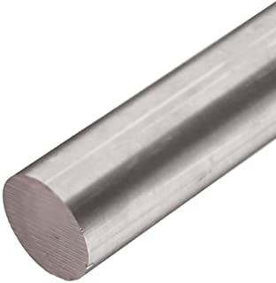 Online Metal Supply 6AL-4V Grade 5 Titanium Round Rod, 1.000 (1 inch) x 12 inches
