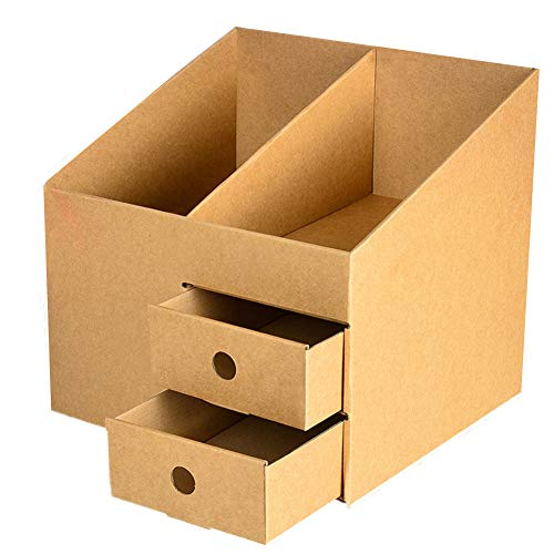 BOENTA Stehsammler Stehsammler Pappe Büro Veranstalter Lagerung Magazin Datei Halter Papier Veranstalter Magazin Dateien Schreibtisch Organisatoren