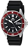 Orient Men's Kanno Stainless Steel Japanese-Automatic Diving Watch with Silicone Strap, Black, 20.5 (Model: RA-AA0011B19A)