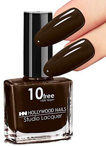 HN Hollywood nails 10 free vegan Nagellack (Chocolate)