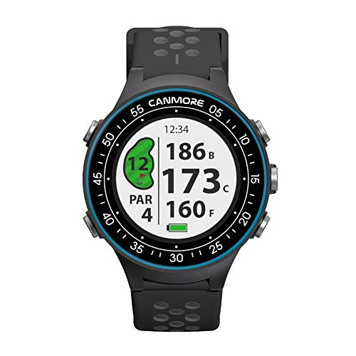 Lowest Price! CANMORE TW-402 Color LCD Multi-Sport Golf Watch - Activity Tracker and Dynamic Waterpr...