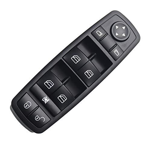 RelaxToday Interruptor de Ventana de Coche, Elevador de Ventana eléctrico, para Mercedes-Benz B classe W245 2005-2011,Interruptor deControl de Ventana deCoche, Accesorios de Coche