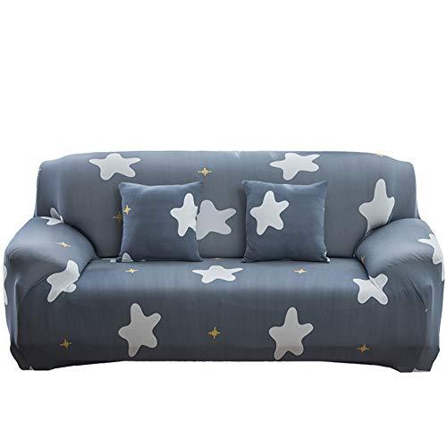 NAttnJf - Funda para sofá con diseño de Gato Flamenco y Estrella, poliéster, 4#, Einzelsitz