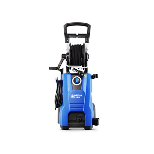 Nilfisk D 140 bar D 140-9 X-TRA UK Pressure Washer for Household, Outdoor, Car Washing, and Garden Tasks – Includes Patio Cleaning Kit – 2400W Induction Motor (Blue)