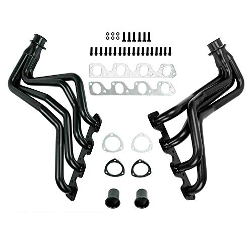 EASYBERG Performance Exhaust Flange Header Compatible with 1977 1978 1979 F150/250/350/Bronco 4WD 351-400 Ci V8 TIG Weld