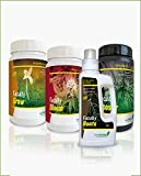 GreenFaculty - Fertilizantes Abonos para Marihuana Cannabis. Kit Pack Ahorro Crecimiento, Floración, Revienta Cogollos PK y Enraizante Ecológico. Faculty Basic