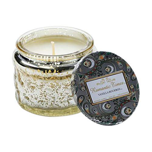 Romantic time candle, fragrant soybean candle gift, candle can be used for about 28 hours, relieve stress, rest and relax, birthday gift is suitable for home, wedding, banquet, etc. (vanilla)