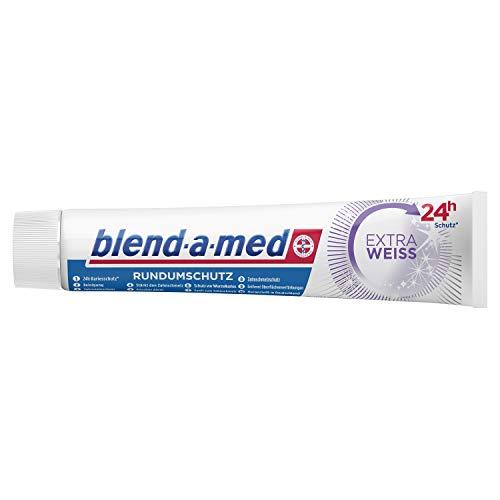 Blend-a-med Rundumschutz Extra Weiß Zahnpasta, 6er Pack (6 x 75 ml)