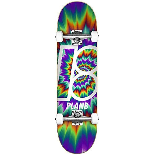 Plan B Skateboards Team Tune Out Factory - Skateboard completo, 19,7 cm