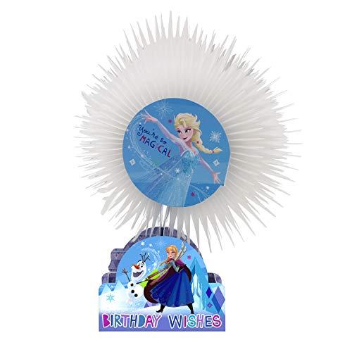 Hallmark - Biglietto Di Auguri Di Compleanno Con Scultura 3D, Motivo: Disney Frozen Paper Wow