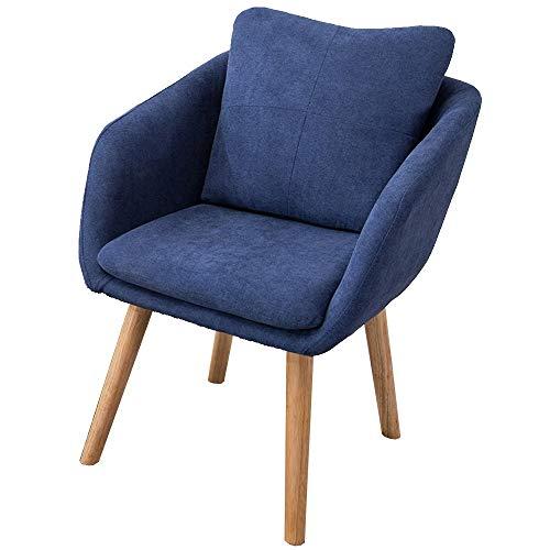 Axdwfd Chaise longue Lounge Chair, Sofa Simple Moderne Minimaliste Balcon Petit Appartement Ignorer Cute Girl Heart Petit Canapé Salon Inclinable 54x50x73cm (Couleur : Gentleman blue)