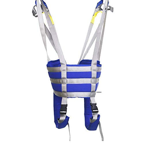 Z-SEAT Ganzkörper-Patientenliftschlingen, Toilettenschlingen-Patientenlift, Commode-Patientenheber, Oberschenkel-Hüft-Taillen-Lendenwirbelsäule unterstützt die Übung von Be