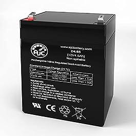 Remplacement de Marque AJC®Batterie Leoch DJW12-5.4 T2 12V 4.5Ah UPS