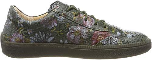 Think! Damen TURNA_585041 Sneaker, Grün (Oliv/Kombi 63), 38 EU