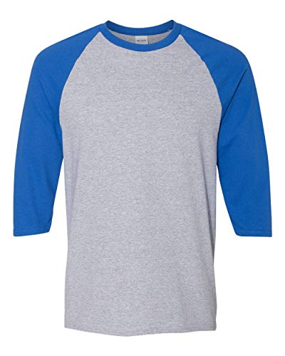 Gildan. Sport Grey/ Royal. XL. 5700. 00191675039300