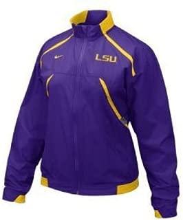 NIKE Lsu Tigers Women's Fumblerooskie Full-zip Jacket