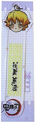 Zhenzhiao Anime Demon Slayer: Kimetsu No Yaiba Segnalibro Bambino Student Kawaii Regalo Segnalibri Ufficio Cancelleria Scuola Testo Educativo Supplies - 03