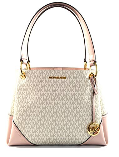 Michael Kors Women's Nicole Large Shoulder Bag Tote Purse Handbag (Blossom Multi)