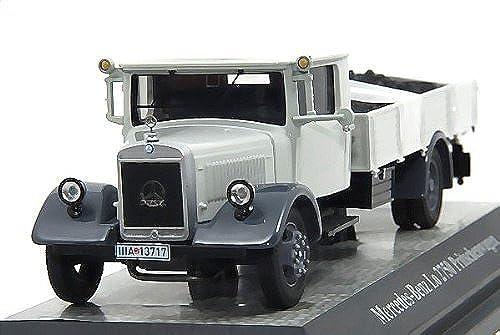 Garantía 100% de ajuste Mercedes LO2750 plataforma plana de carga con con con carbón, gris , Modelo de Auto, modello completo, Premium ClassiXXs 1 43  promocionales de incentivo