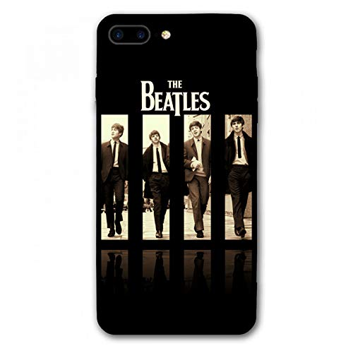 iPhone 7 Plus Case,iPhone 8 Plus Case,Rock Band Silicone Bumper Frame and PC Back Cover Cases for iPhone 7/8 Plus 5.5' (Beatles)