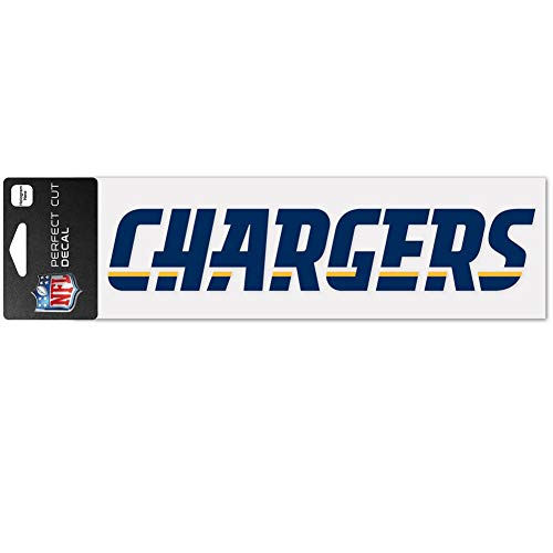 WinCraft NFL San Diego Chargers WCR49167014 Perfect Cut Decals, 3' x 10'
