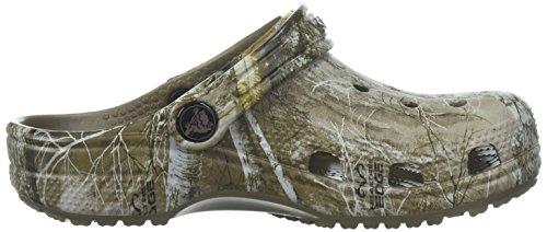 Crocs Kid's Classic Realtree Clog   Camo Shoes