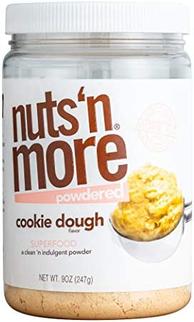 Nuts N More Cookie Dough Peanut Butter Powder All Natural High Protein Nut Butter Healthy Snack product image