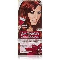 Garnier Color Sensation Coloración Nº6 60 Rojo Intenso de Garnier - 200 gr