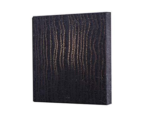 Lichtbeton wandlamp zwart met extra lange design-textielkabel