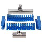 Extractor tipo puente - Kit de extracción tipo puente Herramienta de reparación de abolladuras de automóviles Juego de herramientas de reparación de eliminación de abolladuras de vehículos Kit de extr