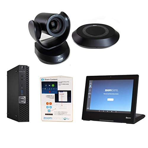 VCGear Aver VC520 Pro Zoom Rooms Bundle for Conference Rooms, with Dell PC, Controller & Cables