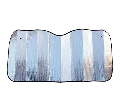 C-J-Xin Auto voorruit intrekbare zonneklep Sunscreen Insulation Doek SUV auto kan worden gebruikt aluminiumfolie met een dikte Size 140 * 70CM Car Schaduw van de Zon (Size : 140 * 70CM)