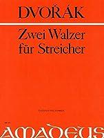 DVORAK - Valses Op.54 nコ 1 y 4 para 2 Violines, Viola y Violoncello (Partitura/Partes) (Pauler)