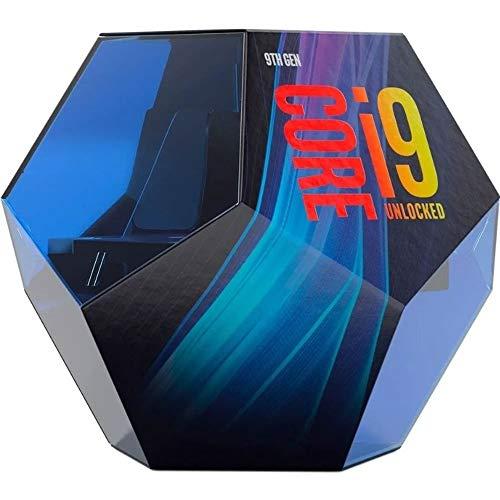 Intel Core i9-9900K Retail - Processore (LGA 1151/8 Core/3.60GHz/16MB/Coffee Lake/95W/Processore Grafico)
