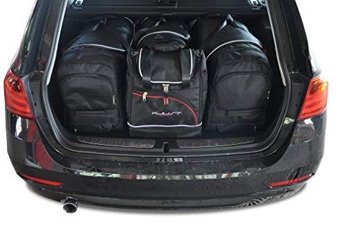 KJUST Dedizierte Taschen 4 STK Set kompatibel mit BMW 3 Touring F31 2012 - 2018