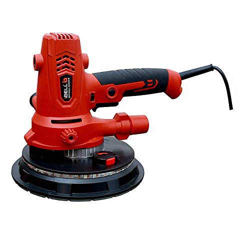 iBELL Dry Wall Sander DS80-70, 180MM, 800W, 1200-2300rpm with Vacuum and LED Light