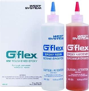 Boating Accessories New G/Flex Epoxy west System 65032 G/Flex 650 Epoxy 32 oz. Two 16 oz. Bottles